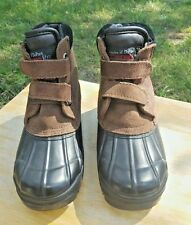 THERMOLITE Leather-Rubber Insoles Of Dupont Performance Insulation Winter Boots