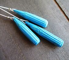 Natural Turquoise carved trio set