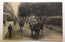 CPA. NANCY. 54 - Cortège Historique 1909. Croisés.