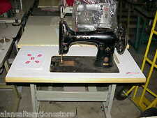 Singer 132 machine à coudre table top estampée (machine, moteur ou support non fournis)