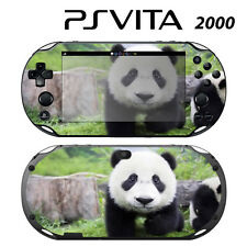 Vinyl Decal Skin Sticker for Sony PS Vita Slim 2000 Cute Panda