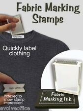 Clothing Marking Rubber Stamp Ideal for School Uniform or Laundry Marking 28mm