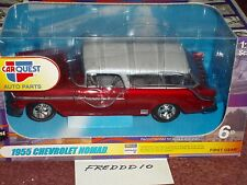 1st GEAR 1955 CHEVY NOMAD 1/25 CARQUEST AUTO PARTS VHTF
