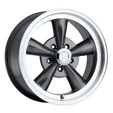 "1- 17x9 Vision 141 Legend 5 5x4.75 0mm Gunmetal Wheel Rim Inch 17"" 141H7961GM0"