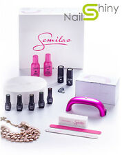 NEW SEMILAC Starter Set KIT Effective 9 W LED NAILS LAMP + free UK socket