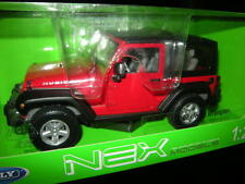1:24 Welly Nex Jeep Wrangler rojo/Red nº 22489h OVP