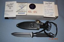 Chris Reeve Knives Shadow IV Custom Fixed Blade Knife - New in Box NIB Boise ID
