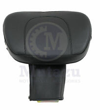 Mutazu Adjustable Foldable Driver Backrest for Yamaha V STAR 1100 CLASSIC 00-13
