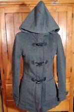 Yoki Outerwear Jacket - Hooded, Basic Coat, Charcoal, Juniors Size Large L