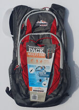Ridgeway Hydration Pack by Kelty 2 Liter Ultralight Backpack Red/Grey BRAND NEW!