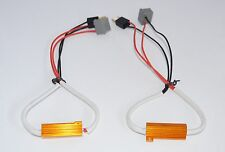 2 x H7 LED Load Resistor 50W 6RJ Decoder For LED bulbs Error Code