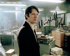 Marshall LANCASTER SIGNED Autograph 10x8 Photo AFTAL COA Ashes to Ashes Dr Who