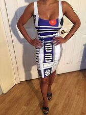 Star Wars R2 D2 Tank Party Dress M