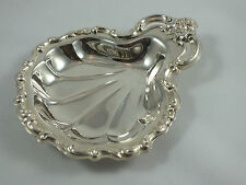 Vintage Ornate Silver-plate Shell Candy / Condiment / Trinket Dish