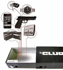 Hand Gun Pistol HandGun Safe Lock Box Cash Cable Security LockBox Travel Secure
