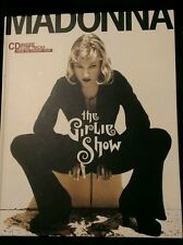 MADONNA The Girlie Show Hardcover Tour Book with CD Calloway 1st Edition Japan