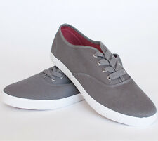 Mens AMERICAN RAG Jonas Canvas Shoes Sneakers Gray Grey Size 13 NEW!