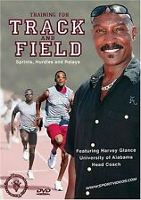 Training for Track and Field: Sprints,Hurdles and Relays DVD Coach Harvey Glance