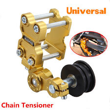 Universal Aluminum Adjuster Chain Tensioner Tool Roller For Motorcycle Chopper