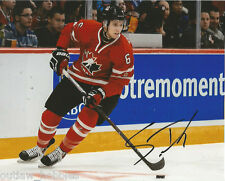 Team Canada Shea Theodore Signed Autographed 8x10 Photo COA A