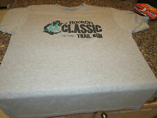 Rock On 5K/10K Classic Trail Run T-Shirt - Gray - Large