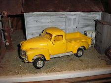 1/24 Vintage 1950's Chevy Step Side 4x4 lifted Pickup for junkyard diorama parts