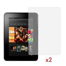"2 XClear Screen Protector Guard for 7"" inch Amazon Kindle Fire HDX 16/32 GB WIFI"