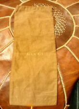Genuine Gucci Brown shoe Dust Bag ONLY With Draw String - 002588