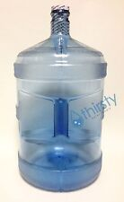 5 Gallon Reusable Water Bottle Drinking Polycarbonate Plastic Container Canteen