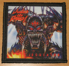 "JUDAS PRIEST ""JUGULATOR"" silk screen PATCH"