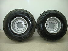 2003 03 POLARIS SPORTSMAN 90 ATV 4 WHEELER FRONT TIRES RIMS 19X7-8