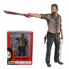 "The Walking Dead Tv Serie Rick Grimes 10 ""vigilante Deluxe Figure (mcfarlane)"