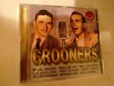 SUPER RARE! Sinatra, Crosby, Astaire, Como, Cole, Laine Crooners compilation CD