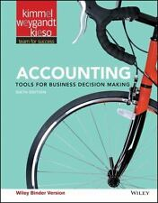 Accounting, Binder Ready Version: Tools for Business Decision Making - 6th ed