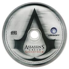ASSASSIN'S CREED GAME Soundtrack CD (Jesper Kyd) 12 Tracks (Music from AC1+AC2!)