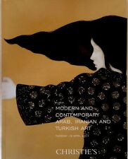 CHRISTIE'S DUBAI MODERN &CONTEMPORARY ARAB,IRANIAN,TURKISH ART Auction Catalog