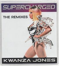 Kwanza Jones Time To Go 2012 Ultra Rare Remixes 3 Disc Promo CD Supercharged