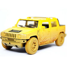 Kinsmart 2005 Hummer H2 SUT Diecast Display Toy Car 1:36 KT5097DY Muddy Yellow