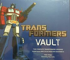 TRANSFORMERS VAULT: THE COMPLETE TRANSFORMERS UNIVERSE HARDCOVER