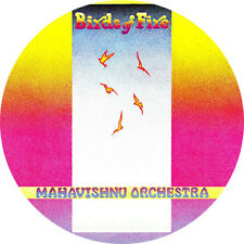 CHAPA/BADGE MAHAVISHNU ORCHESTRA . pin button jazz rock john mclaughlin hammer