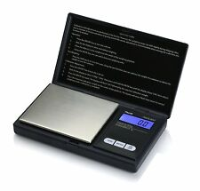 American Weigh Scales AWS-600-BLK Digital Personal Nutrition Scale, Pocket Size