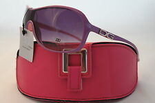 D.G SUNGLASSES NEW STYLE HOLIDAY FASHION PURPLE CELEBRITY DG +PINK CASE