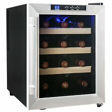 12 BTL Wine Cooler Refrigerator Counter Top Temperature Control Y-SC-12ASS