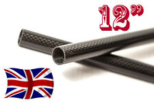 "2 x 15mm Carbon Fiber Rods / bars / tubes  DSLR Rig 13"" (any length on request)"