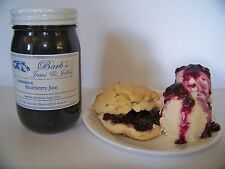 Jams & Jellies Blueberry Jam Home Made Amish Country (20 oz.)