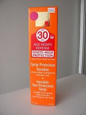 MARY COHR SPRAY SOLAIRE INVISIBLE ANTI AGE CORPS 30 AGE SIGNES DEFENSE PROTEGE