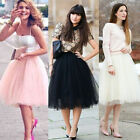 Fashion Sweet Women Girls' Tutu Princess Skirt Petticoat Knee-Length Mini Dress