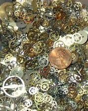STEAMPUNK 10g Grams Old Pocket Wrist WATCH PARTS Gears Cogs Wheels Movements