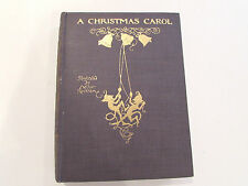 A Christmas Carol, Dickens -1915 Rare Signed & Original Drawing by Rackham Book