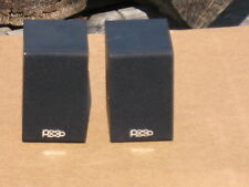 """A Pair Mini 3"""" Full Range 4 ohm Speaker systems In Good Condition!"""